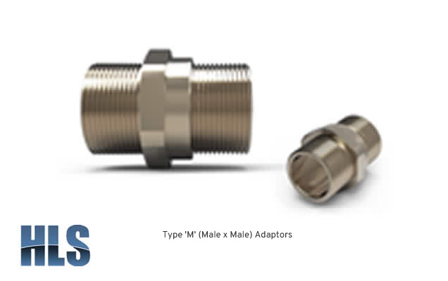 Type M Male x Male Adaptors