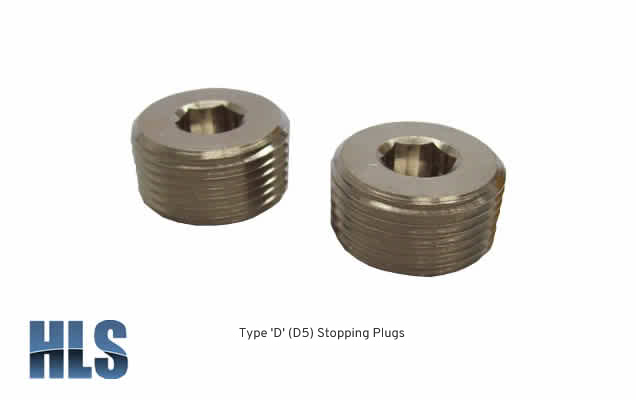 Type D (D5) Stopping Plugs
